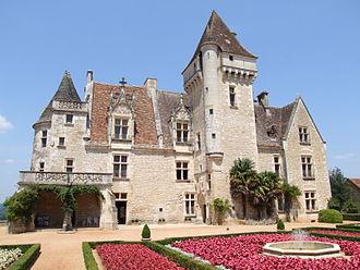 Housing in Europe - Château des Milandes in Castelnaud-la-Chapelle, France