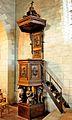 Chaire en chêne de l'église d'Andard DSC 1907.jpg