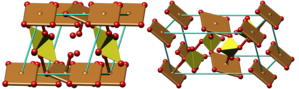 Chalcanthite - Image: Chalcanthite crystal structure