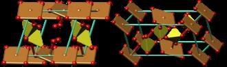 Chalcanthite - Image: Chalcanthite crystal structure