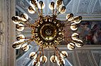 Chandelier of the eighteenth century in the palace of Caserta.jpg