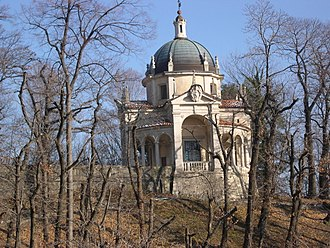 Sacri Monti of Piedmont and Lombardy - Image: Chapel IV of the Sacro Monte (Varese)2