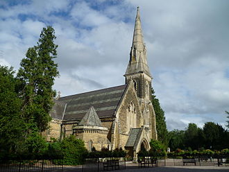 New Southgate Cemetery - The chapel at New Southgate Cemetery designed by Alexander Spurr.