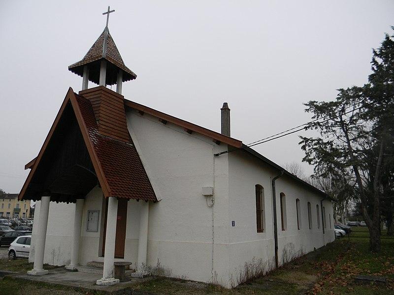 Chapelle du camp de La Valbonne.