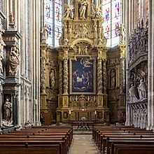 Photo de la chapelle de la Vierge