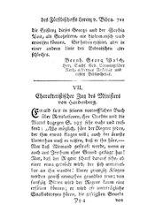 Charakteristischer Zug des Ministers von Hardenberg, S. 711-716