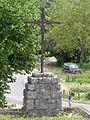 Chargé (Indre-et-Loire) Croix de chemin.JPG