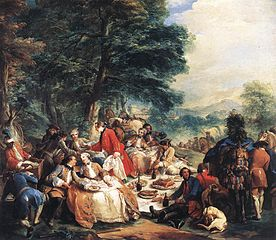 Halt During the Hunt (C.-A. van Loo)