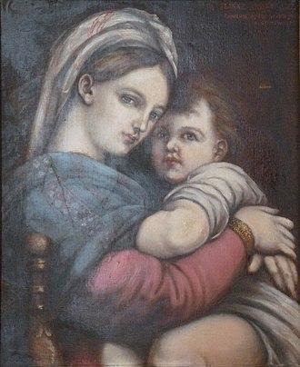 Charles Goutzwiller - Image: Charles Goutzwiller Vierge à l'enfant Musée sundgauvien
