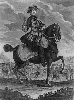 Charles Lee (general) - General Lee on horseback