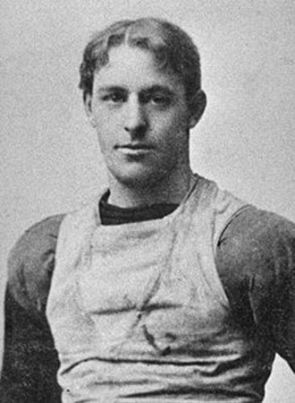 1895 College Football All-America Team - Charles Gelbert of Penn.