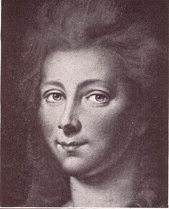 Countess Maria Louise Albertine of Leiningen-Dagsburg-Falkenburg - Image: Charlotte He Da Meck