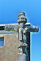 Chatelblanc. Détail de la croix de la Combille. Face Est. 2015-04-21.JPG