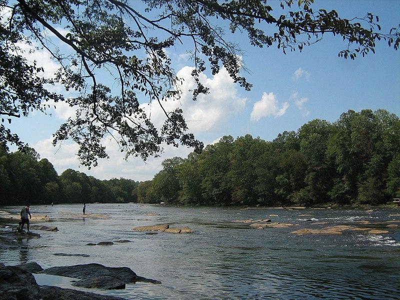 The Chattahoochee River in Georgia