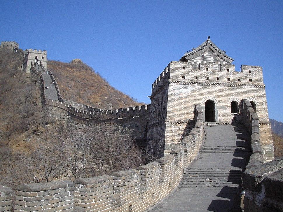 Chemin de ronde muraille long