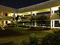Chennai Mathematical Institute main building greenery at night 2.JPG