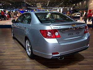 Chevrolet Epica (rear) - Flickr - Alan D.jpg