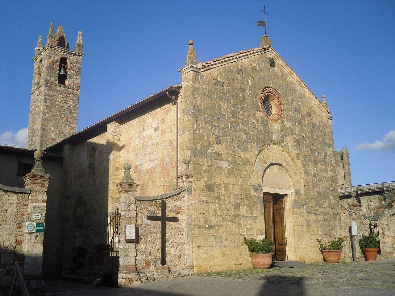 Chiesa di Santa Maria, Monteriggioni.jpg