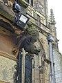 Chimeras at St Mary's Church, Mold - yr Wyddgrug, Wales 24.jpg