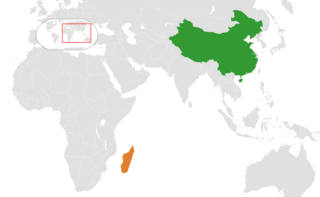 China–Madagascar relations Diplomatic relations between the Peoples Republic of China and the Republic of Madagascar