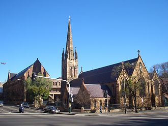 Chippendale, New South Wales - St Benedicts Church and University of Notre Dame