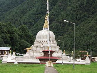 Trashiyangtse District - Chorten Kora, Trashiyangtse District, Bhutan