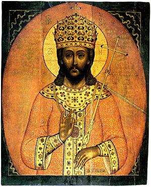 Царь царём (a 17th-century icon from Murom)