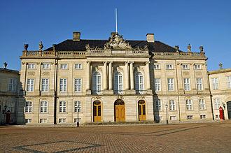 Amalienborg - Christian VII's Palace (Moltke's Palace)