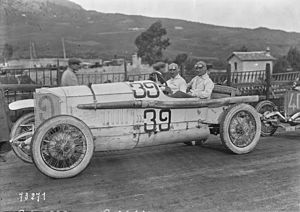 Christian Werner - Werner at the 1922 Targa Florio