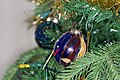 Christmas ornaments on an artificial tree, 2014-12-31 01.jpg