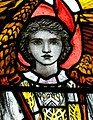 Christopher Whall work from window in St Etheldreda's parish church, Hatfield, Herts.jpg