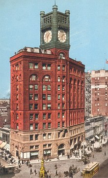 An image of the Old Chronicle Building.