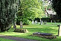 Church of St Andrew, Nuthurst, West Sussex - churchyard 01.jpg