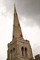 Church of St Denys, Colmworth spire.jpg