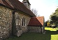 Church of St Michael, Leaden Roding, Essex, England - nave and vestry from north-east.jpg