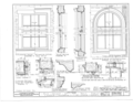 Church of the Holy Family, State Route 157, Cahokia, St. Clair County, IL HABS ILL,82-CAHO,1- (sheet 6 of 9).png