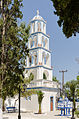 Church tower - Kamari - Santorini - Greece - 02.jpg