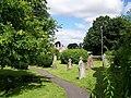 Churchyard, St Peter's Church - geograph.org.uk - 884843.jpg
