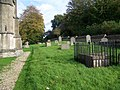 Churchyard - Church of St Mary, St Katharine and All Saints, Edington - geograph.org.uk - 1008917.jpg