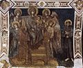 Cimabue - Madonna Enthroned with the Child, St Francis and Four Angels - WGA04920.jpg
