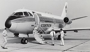 Cimber Sterling - A VFW-Fokker 614 at Groningen Airport in 1977