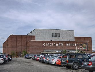 Cincinnati Slammers - The Cincinnati Gardens (pictured) was the home venue of the Slammers from 1984–87.