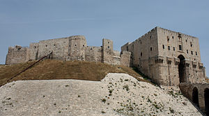 Citadel of Aleppo - View from outside