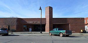 Tecumseh, Oklahoma - Tecumseh City Hall, December 2016