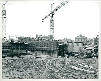 Boston City Hall - City Hall construction, circa 1964-1968