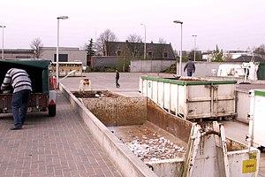 Civic amenity site - A civic amenity site