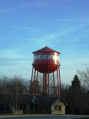 Clarinda, Iowa - Image: Clarinda
