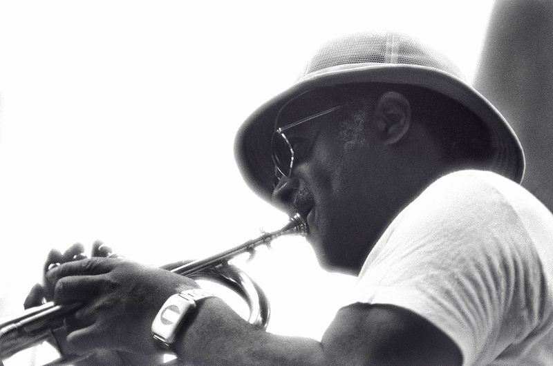 Clark Terry in New York, 1976