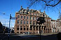 Classical Dutch buildings at Den Haag in wintersunshine at 16 Januari 20015 - panoramio.jpg