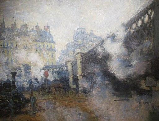Claude Monet, 1877, Pont de l'Europe (cropped)